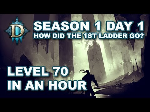 D3 RoS Season 1 Day 1 Report - How People Got Level 70 in an Hour