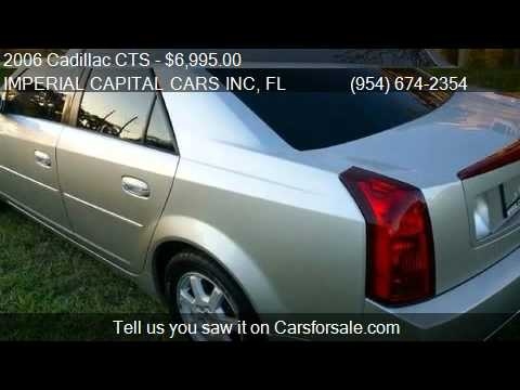 2006 Cadillac CTS Base 4dr Sedan for sale in Hollywood, FL 3