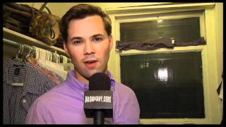 """Behind the Scenes: Backstage at """"The Book of Mormon"""" with Andrew Rannells"""