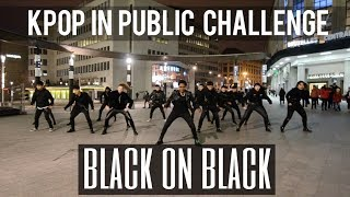 [KPOP IN PUBLIC CHALLENGE] NCT 2018 (엔시티 2018) 'Black on Black' Cover by Move Nation x THE A.I.M