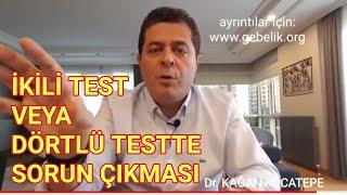 Hamilelikte ikili veya dörtlü testte sorun çıkarsa ne olur? - Fetal Dna testi (cffDNA) nedir?