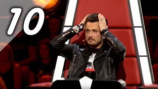 TOP [10] BEST BLIND AUDITIONS THE VOICE OF POLAND IX