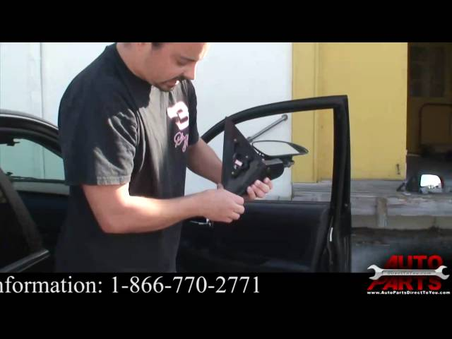 Hyundai Sonata Side View Mirror How To Remove Replace ...