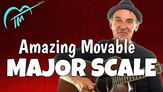 Amazing Movable Major Scale Guitar Lesson