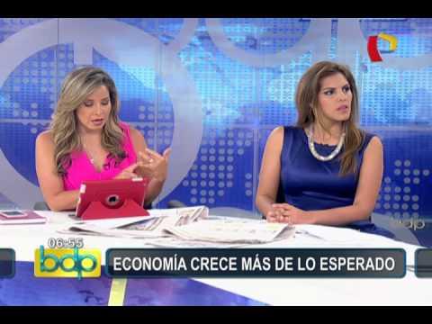 Economía peruana: González Izquierdo explica razones de sorpresivo crecimiento