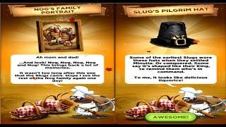 Best Fiends level 133  Nog's Hidden Thanksgiving Dinner Items walkthrough gameplay  2018 android ios