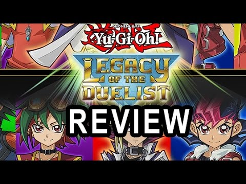 Yu-Gi-Oh Legacy Of The Duelist Review
