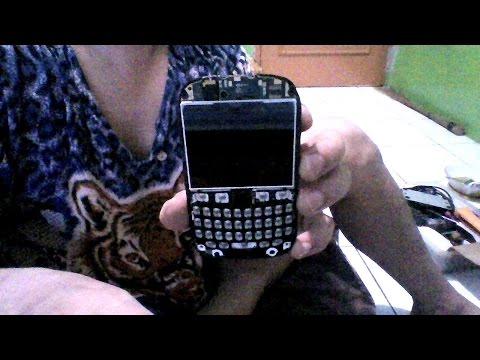 How to,  Cara memperbaiki keypad blackberry rusak..!!