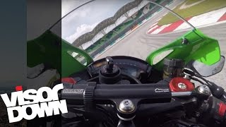 Kawasaki ZX-10R Onboard Fast Lap | Amazing High Speed Bikes | Visordown Onboard Motorcycle Reviews