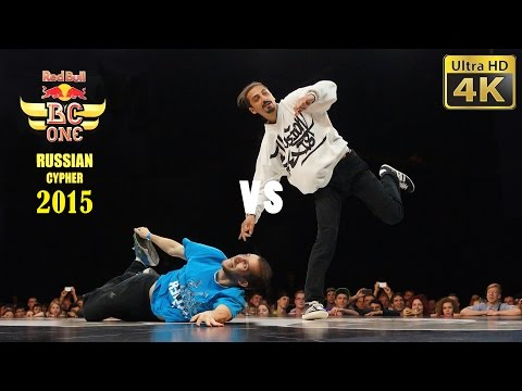 Red Bull BC One Russian Cypher 2015, Moscow - 1/8 battle 8 - 4K LX100