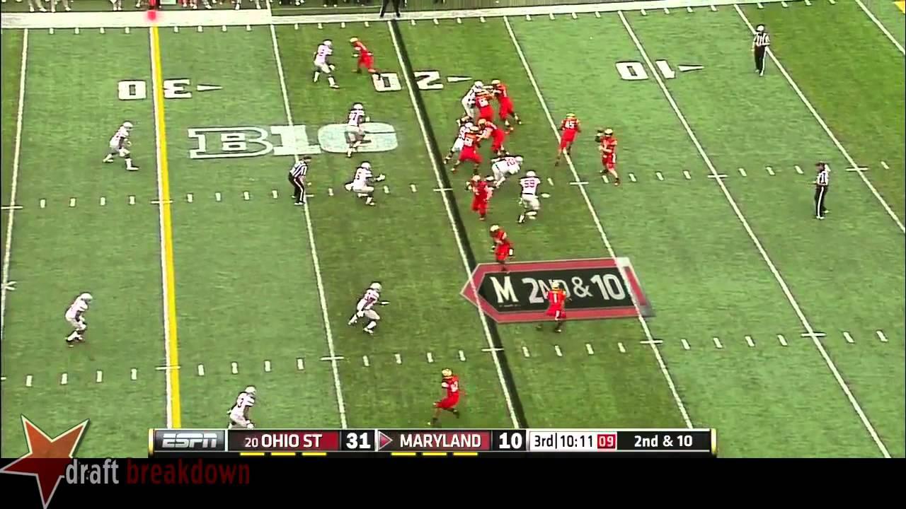 Joey Bosa vs Maryland (2014)
