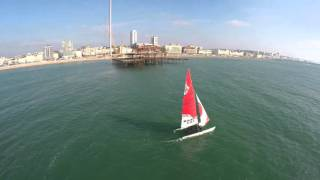 Brighton Sailing Club - aerial footage