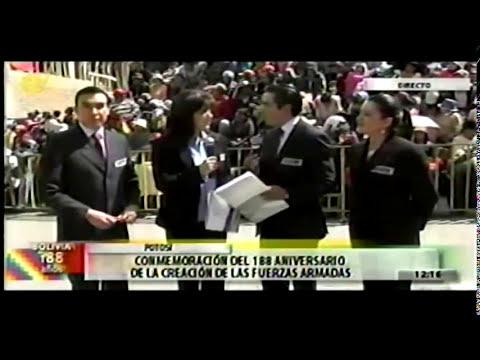 Parada Militar Bolivia - 2013 - Potosi Parte1