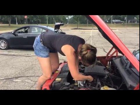 Dodge Dakota/Durango Alternator Repair with Cute Girl