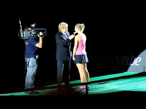 Francesca Schiavone and Yanina Wickmayer interview @ Antwerp Diamond Games 09/12/2010
