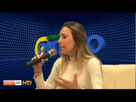 Ergonomia com a Fisioterapeuta Claudia Rossi no Ponto de Contato - JustTV - 05/07/11