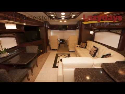 All New 2014 Entegra Cornerstone in Tampa Florida at Lazydays RV Authority