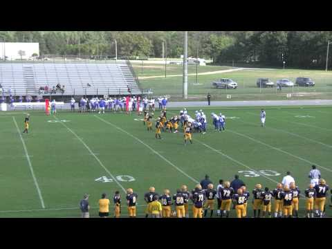 Edwards Middle School vs. West Edgecombe Middle School (2nd Quarter) - 9/29/11