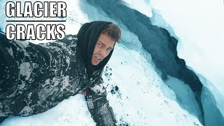 Surrounded by glacier cracks | ICELAND EP 6