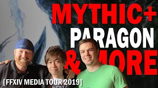 Yoshi-P On Mythic+ Dungeons, Paragon Levels, and much more | Media Tour 2019 Interview