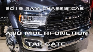2019 Ram Chassis Cab introduction and Ram 1500 Multifunction tailgate: Chicago Autoshow