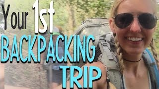 Planning Your First Overnight Backpacking Trip