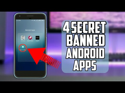4 SECRET BANNED Apps Available in Playstore - NO ROOT Android - 2017/2018