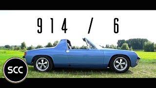 PORSCHE 914/6 1971 - Full test drive in top gear   SCC TV