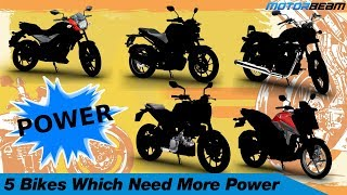 5 Motorcycles Which Really Need More Power | MotorBeam