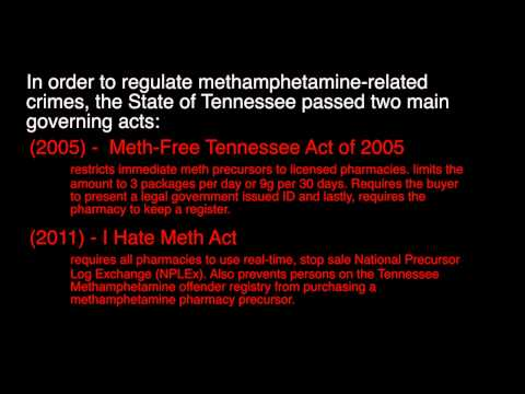 CJUS 3152 - Methamphetamine Presentation