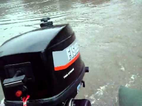 лодочные моторы mercury обкатка видео