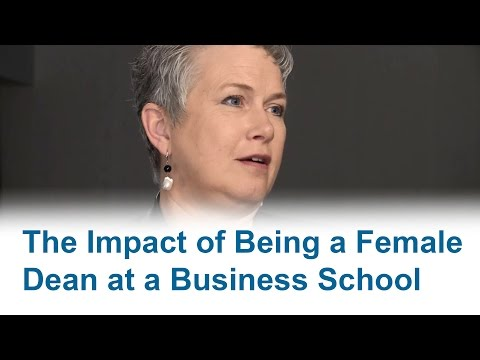 The Impact of Being a Female Dean at a Business School