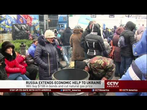 Russia Extends Economic Help to Ukraine