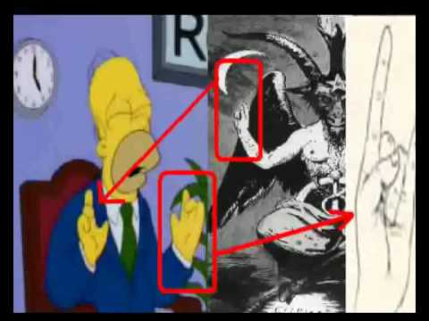 The Simpsons illuminati PART 1