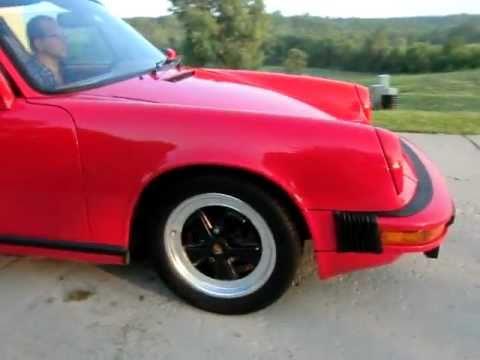 Porsche 911 Targa (Show+Take off)