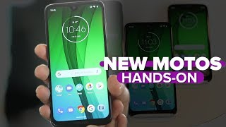 Moto G7, G7 Power and G7 Play hands-on