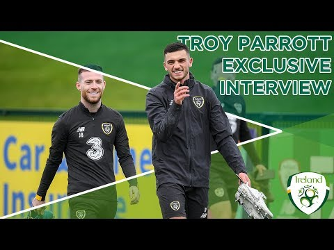 EXCLUSIVE INTERVIEW | Troy Parrott talks ahead of his senior Ireland debut