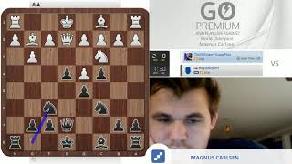 """That was weird!"" Magnus Carlsen vs chess24 user TheDillingerEscapePlan"