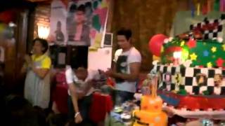 World Vision Kids singing happy birthday to Sam Milby