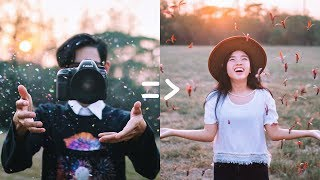 How to Creative Portrait Photography Ideas in Summer! 📷