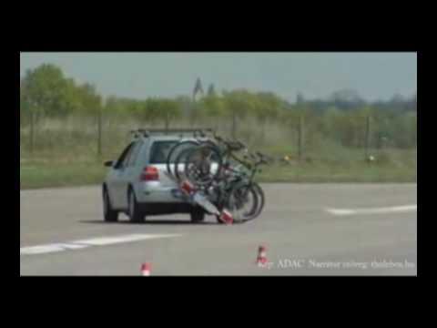 ADAC kerékpártartó teszt. Thulebox.hu