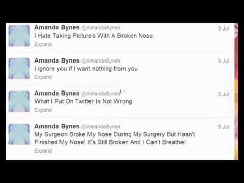 Amanda Bynes Crazy Tweets July 8th-july 10th video