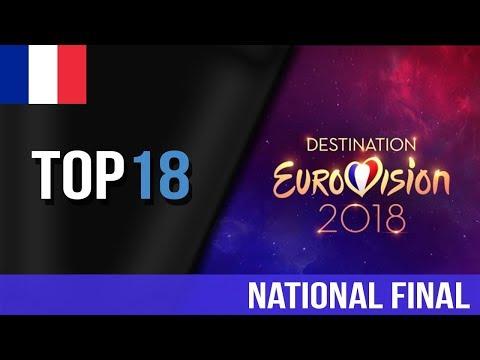 Destination Eurovision 2018, my TOP 18 | Eurovision 2018