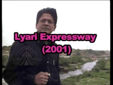 SHABBIR IBNE ADIL PTV Lyari Expressway