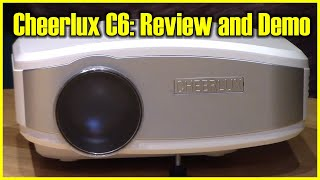 Download Cheerlux C6 Mini LED LCD 800x480 Pixel Projector Review & Unboxing for Home Theater 1200 Lumens 3Gp Mp4