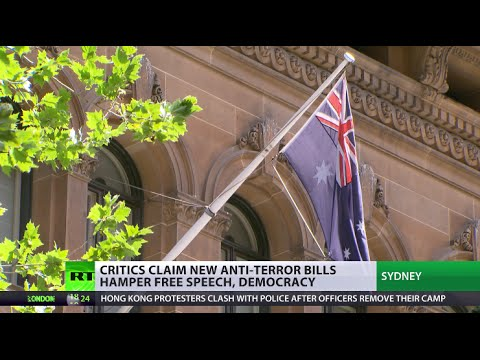 Aussie anti-terror 'gagging' bill: 'Shambolic,' reminds 'black comedy'