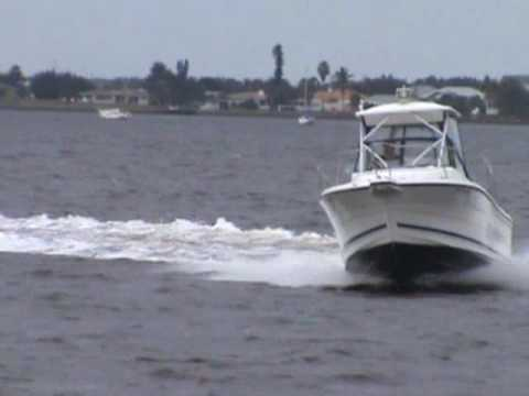 Bayliner trophy water test video