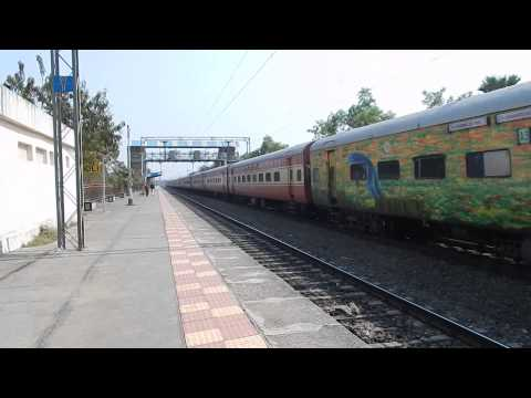 Duronto Wap-7 12263 Pune-nzm Ac Duronto Express Attacking  110 Kmph!! video