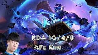 AFs Kiin RYZE vs KENNEN Top (League Of Legends Challenger Replay)