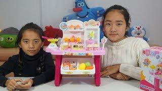 Bộ đồ chơi siêu thị mini - Trò chơi bán hàng đồ chơi trẻ em - Mini Market Playset MN Toys